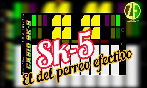 piano sk5 champeta