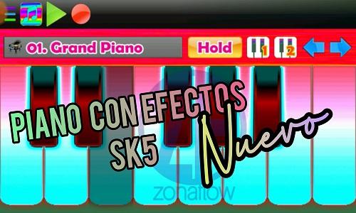 Nuevo piano para Android con los efectos SK-5