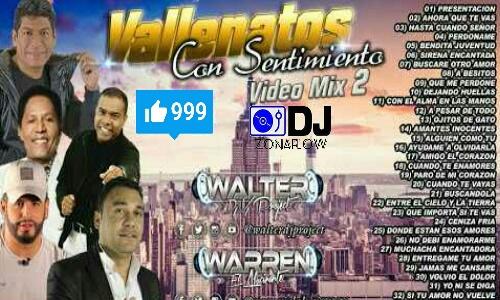 VALLENATOS Con Sentimiento (Audio mix) vol 2